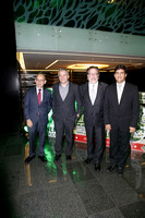 David Wilk, Jürgen Mahlknecht, William Sarni y Aurelio Ramos