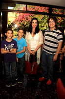 Erick Topete, Franco Topete, Gaby Garza y Max Topete