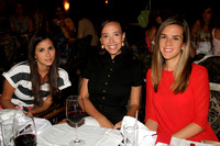 Angela Marroquin de Williams, Pilar Villaescusa y Diana Fernandez