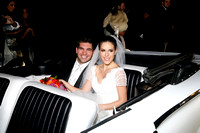 David y Ana Gaby en el carro