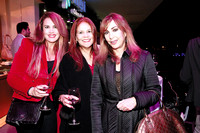 Claudia Morales, Teresa Frese y Nancy Montemayor