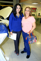 Claudia Ruiz y Mary Gracia