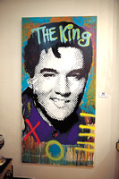 Elvis, the King. Obra de Paola González