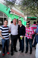 Mario Villarreal, Nabil Hamed, David Sánchez y David Martínez