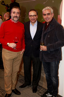 Guilermo Luna, Julio Delgado y Jorge Montemayor